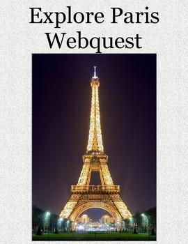 Explore Paris Webquest
