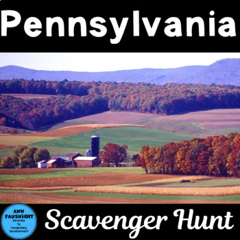 Explore Pennsylvania Scavenger Hunt