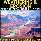 Explore Physical and Chemical Weathering -  4th Grade Science Station