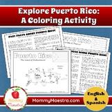 Explore Puerto Rico: A Country Coloring Activity