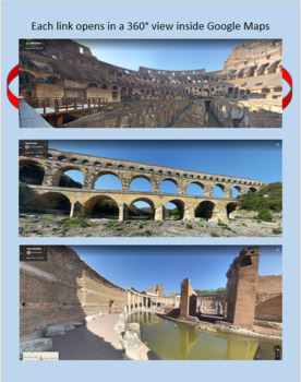 Explore Roman Architecture with Google Maps Street View