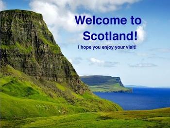 Explore Scotland with your Five Senses (Promethean Presentation)