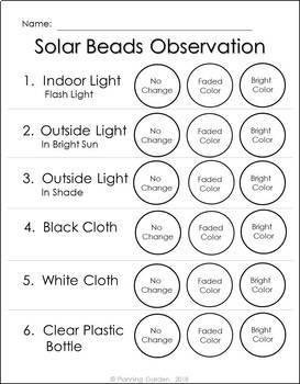 Explore Solar Energy using Solar Beads