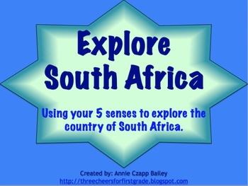 Explore South Africa with your Five Senses (Promethean Flipchart)