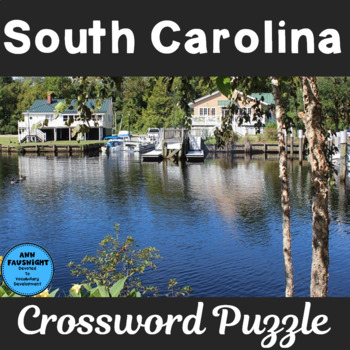 South Carolina Crossword Puzzle