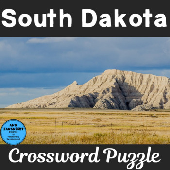 South Dakota Crossword Puzzle