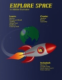 Explore Space: An Adobe Illustrator Project
