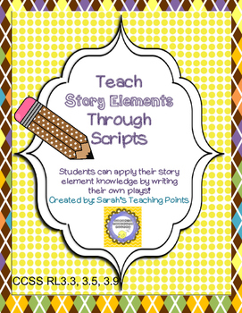 Explore Story Elements the Fun Way! Awesome Writing Resource!