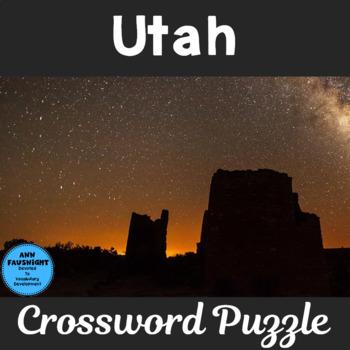 Explore Utah Crossword Puzzle