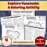 Explore Venezuela: A Country Coloring Activity