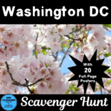 Washington DC Scavenger Hunt with Posters