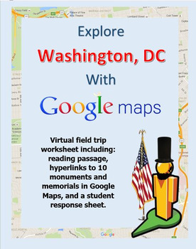 Explore Washington, DC with a Google Maps Virtual Field Trip by Owl Maps