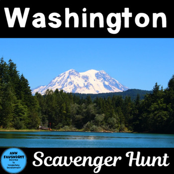 Washington Scavenger Hunt