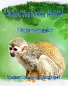 Explore Your Inner Animal Student Companion Worksheet