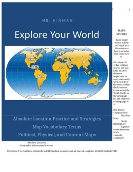 Explore Your World: Maps as Stories