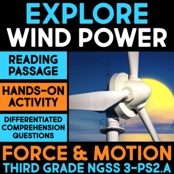 Explore a Pinwheel - Force & Motion Science Station