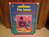 Explore and Discover the Five Senses by Creative Teaching Press (Grades 1-3)