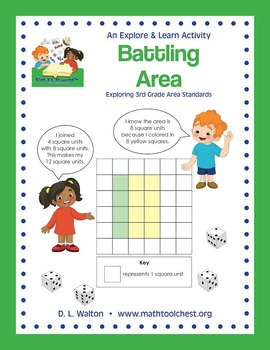 Explore and Learn 3rd Grade Area Standards: Battling Area