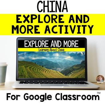 Explore and More CHINA Cultural Exploration for Grades 3-6