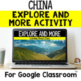 Explore and More CHINA Cultural Exploration for Grades 3-6