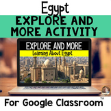 Explore and More Egypt Cultural Exploration for Grades 3-6