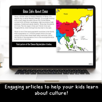 Explore and More GROWING BUNDLE of Cultural Explorations (Google Classroom)
