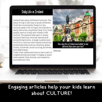 Explore and More Ireland Cultural Exploration for Grades 3-6