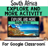 Explore and More South Africa- Cultural Exploration for Grades 3-6