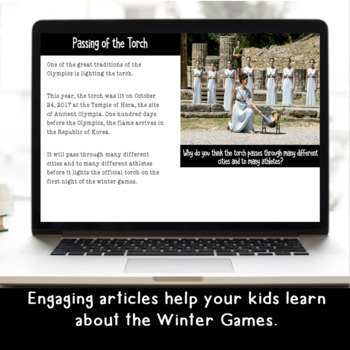 Explore and More WINTER GAMES Exploration for Grades 3-6