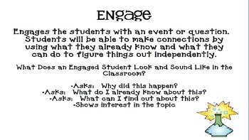 Explore the 5 E's of Science