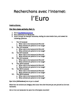 Explore the Euro in French
