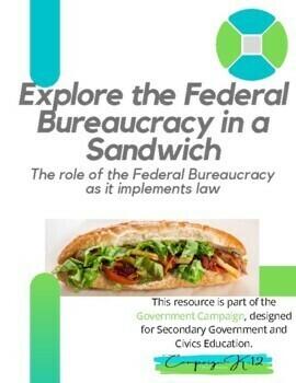 Explore the Federal Bureaucracy in a Sandwich