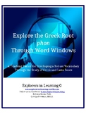 Explore the Greek Root PHON Through Word Windows