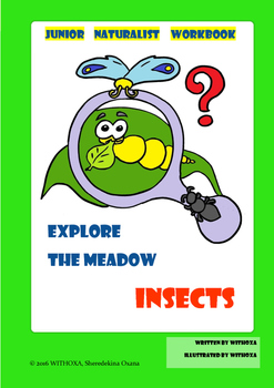 Explore the Meadow Insects Junior Naturalist Summer Workbook