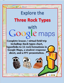 Explore the Rock Cycle with a Google Maps Virtual Field Trip