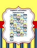 Nautical Adventure Alphabet Cards Set