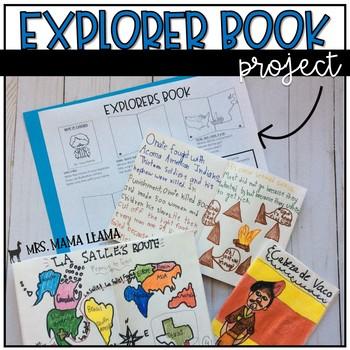 Explorer Book Project