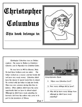 Explorer Book Series - Christopher Columbus