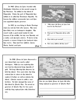 Explorer Book Series - Juan Ponce de Leon