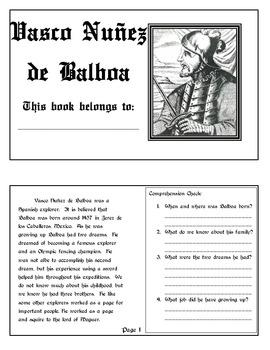 Explorer Book Series - Vasco Nunez de Balboa