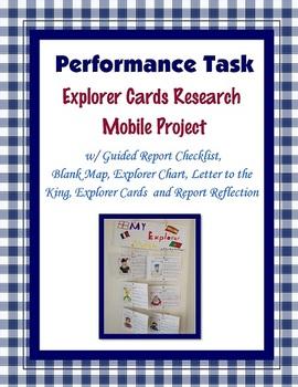 Explorer Cards Mobile Project Task