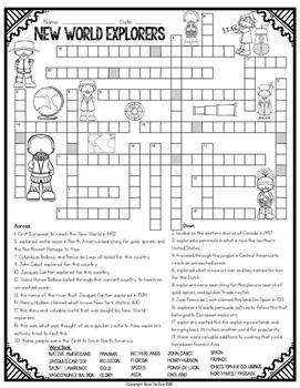 Explorer Crossword