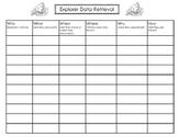Explorer Data Retrieval Chart