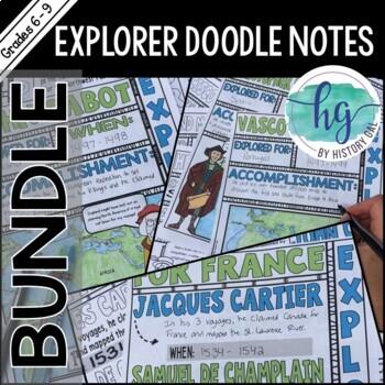 Explorer Doodle Notes Bundle