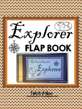 Interactive Explorer Flap Book