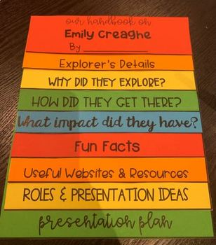Explorer Flipbook By Whats The T Miss T Teachers Pay Teachers