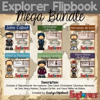 Explorer Flipbook GROWING Bundle (Interactive Notebooks)