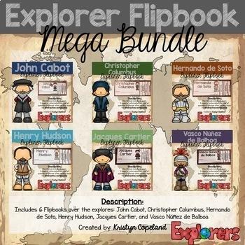 Explorer Flipbook Bundle (Interactive Notebooks)