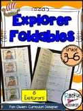 Explorer Foldables for 8 Explorers