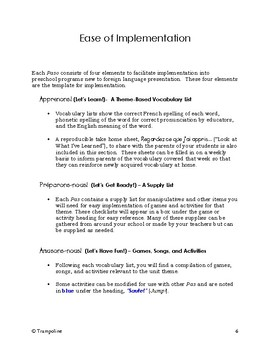 Explorer French Learning Program - Instruction Manual